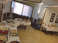 Brunch del Colegio Mayor Peñafiel de Valladolid