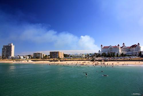 ocean blue summer beach water strand southafrica meer wasser sommer blau portelizabeth sandstrand hobiebeach südafrika