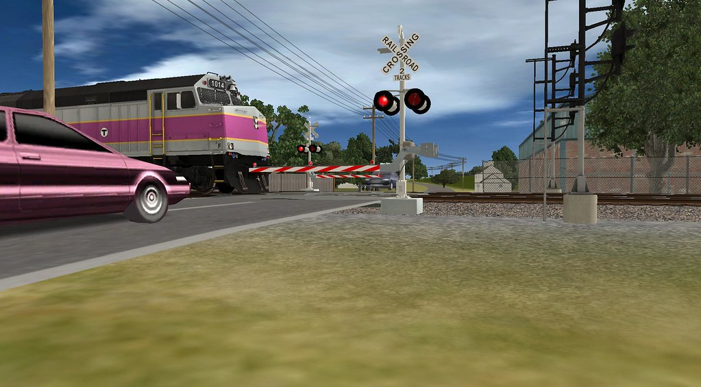 Trainz: Newburyport / Rockport Line | A real life route in n