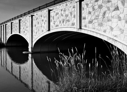 Black and white bridge | by rogersmj