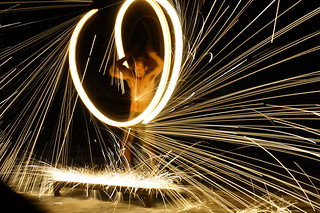 Fire dancers, Ao Prao Resort, Koh Samet, Thailand | by micrypt