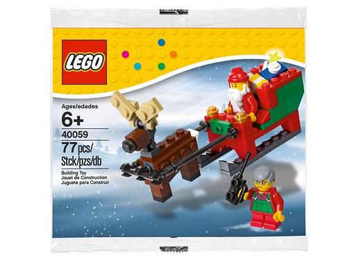 LEGO Seasonal Santa's Sleigh (40059)