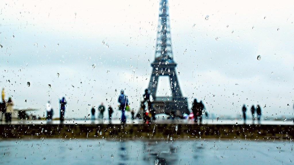 Reflection Behind the Rain
