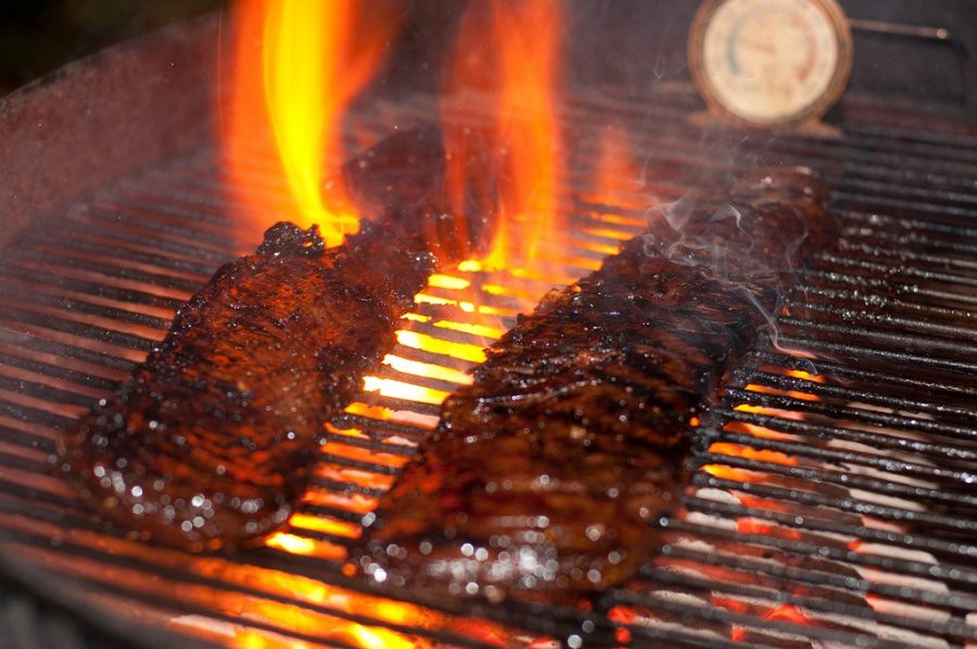 grilled skirt steak | Bloody Mary Steak Recipe | Brian Child | Flickr