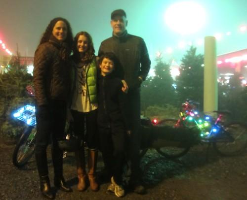 Foggy Xtracycle Tree Hauling (year 7)