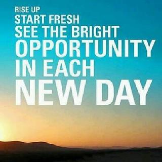 It's a brand NEW day! #motivation #inspiration #entreprene