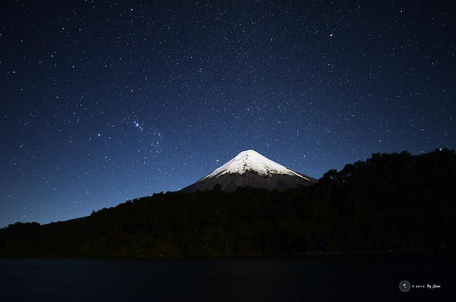 Noche en el Lago de todos los Santos