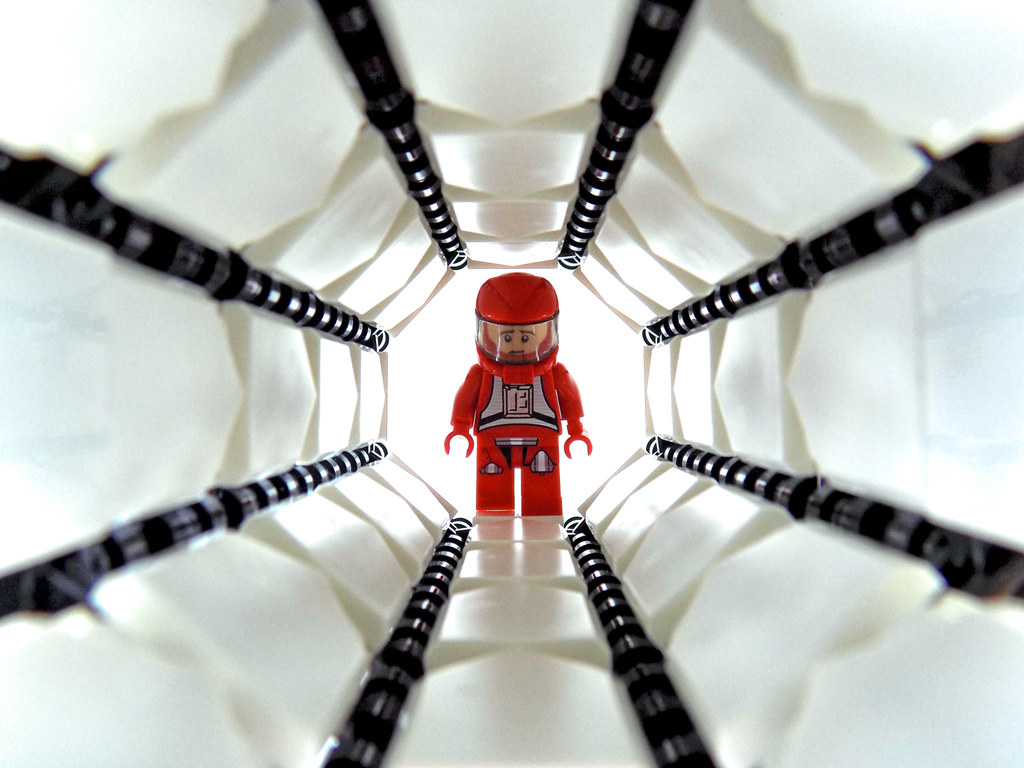 INSTRUCTIONS ONLY 2001:A Space Odyssey Movie by Stanley Kubrick CUSTOM LEGO