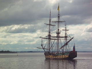 300 year old ship replica, Saint-Petersburg