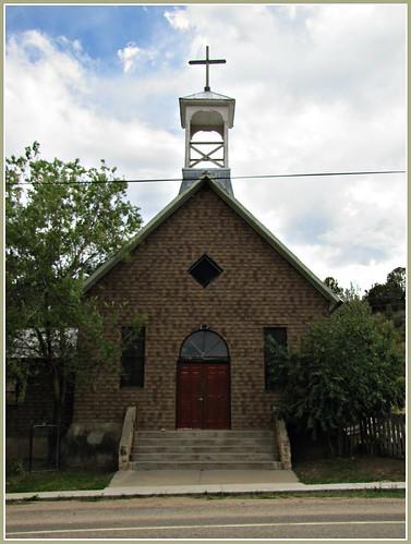 church architecture clouds colorado doors smalltown doorways architecturaldetails purgatorieriver