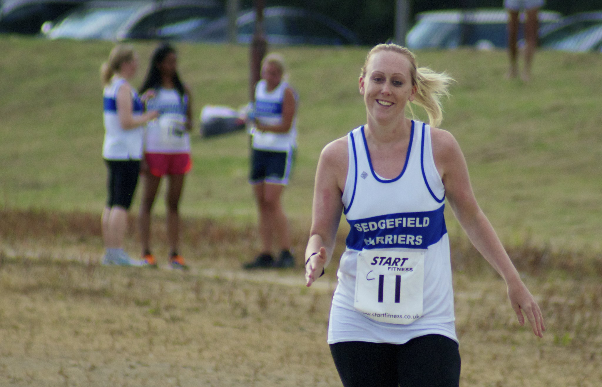 Kate Parsons at Crook Relays Jun13