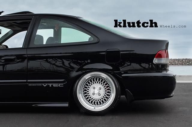 Honda Civic Coupe SI on Klutch Wheels SL-1