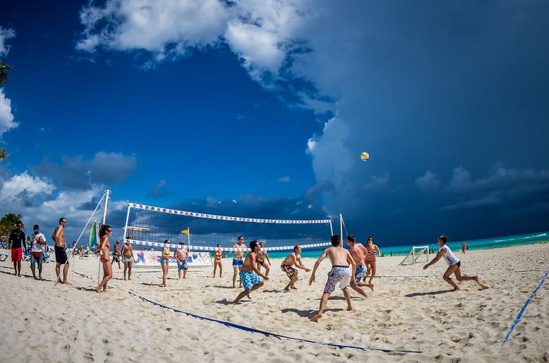 Pre-storm Volley