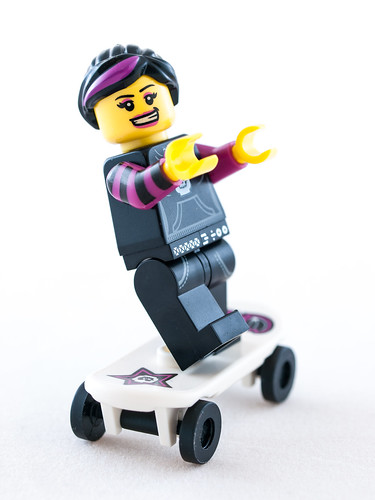 Lego Skater Girl | by wwarby