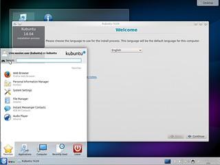 Kubuntu 14.04 Alpha 2 Install   by LinuxSnap