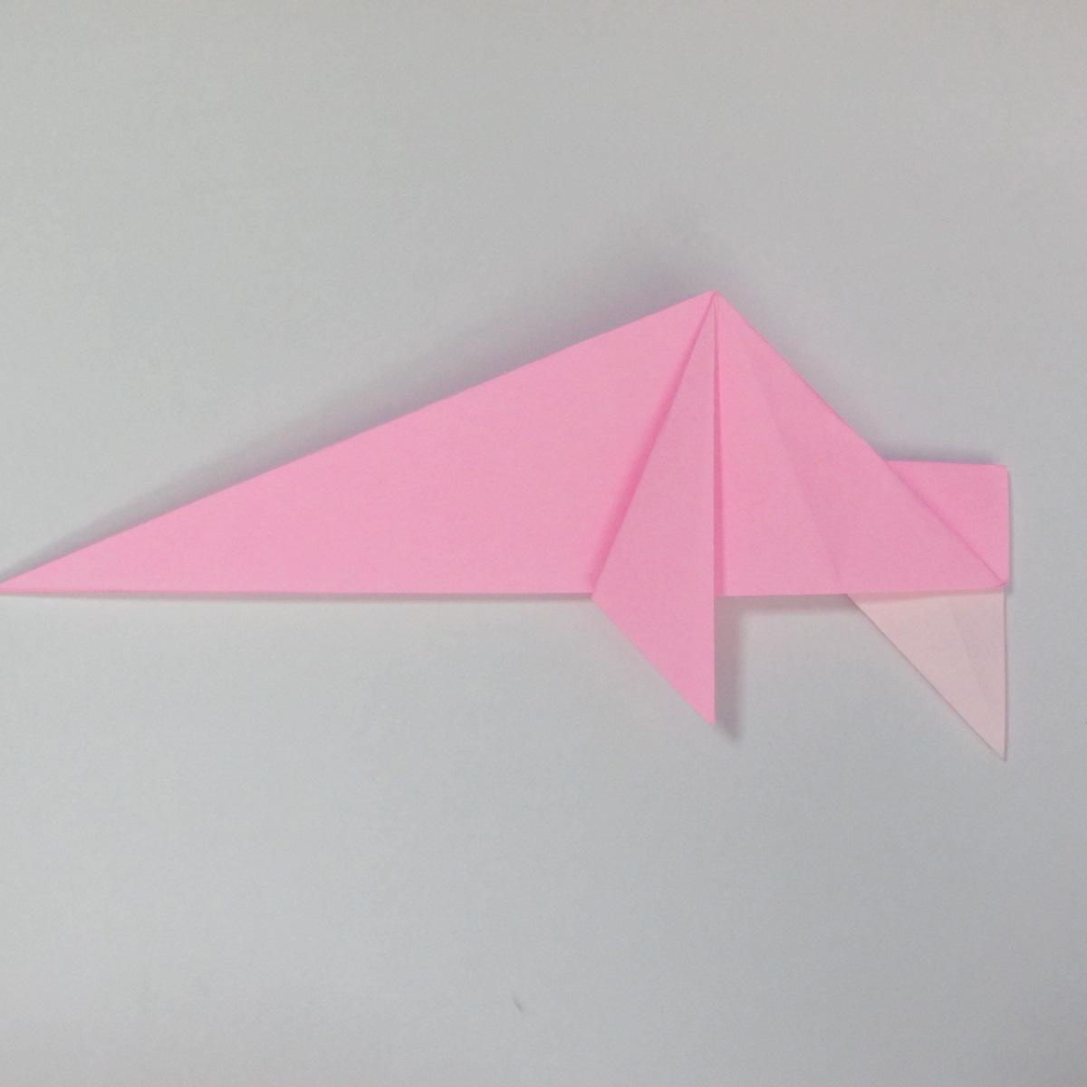 สอนการพับกระดาษเป็นลูกสุนัขชเนาเซอร์ (Origami Schnauzer Puppy) 041