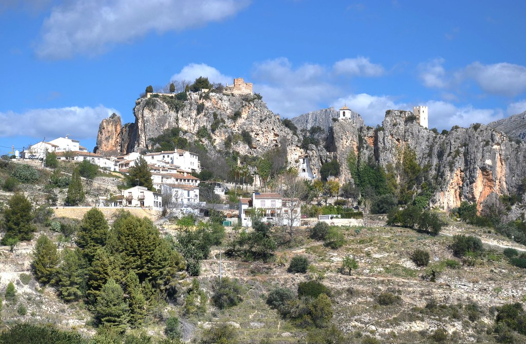 Guadalest, Spain - a photo on Flickriver