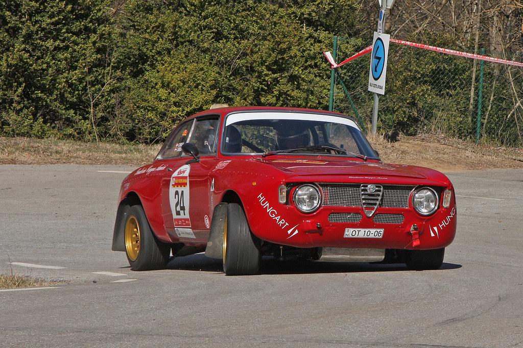 Laszlo Mekler Alfa Romeo Giulia Sprint Gta 62e Rallye Cos Flickr
