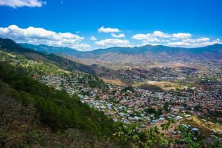 Blue Skies over Tegucigalpa, Honduras | by nan palmero