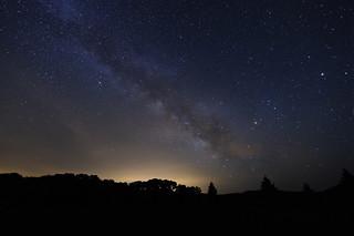 Night at Lake Sonoma - the Milky Way