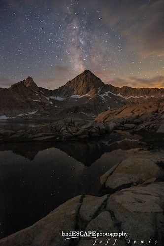 Granite Paradise (Milky Way over the Sierra Backcountry) | by landESCAPEvisuals | jeff lewis