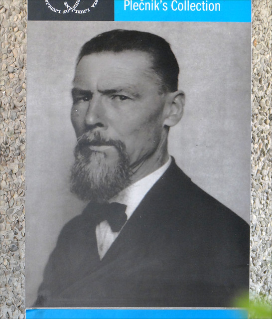 Portrait de Jože Plečnik (Ljubljana)