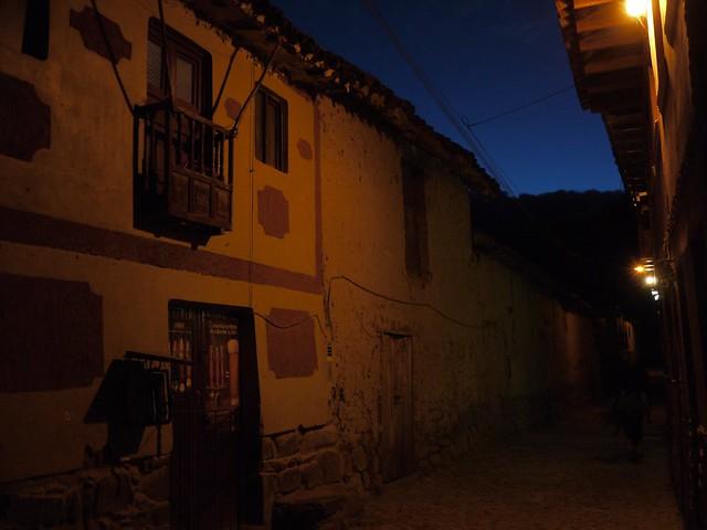 日, 2013-08-18 20:11 - Ollantaytamboの夜