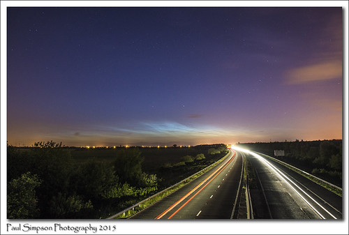longexposure summer sky nature beauty weather dark space nighttime nightsky scunthorpe noctilucentclouds traffictrails inthesky photosof imageof photoof m181 imagesof sonya77 paulsimpsonphotography june2015 photosofweather