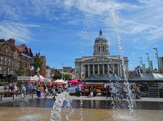 Nottingham Old Market Square