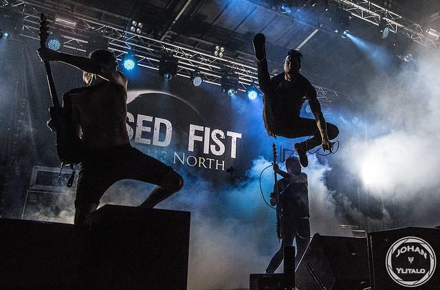 Raised Fist live Luleå Hamnfestivalen 2015