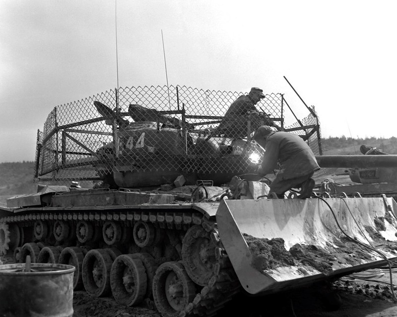 M46 Patton en Corea