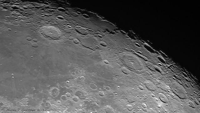 Langrenus - Petavius: First light with ZWO ASI290MM
