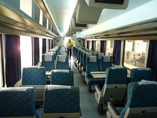 Barcelona - Granada train (Arco)