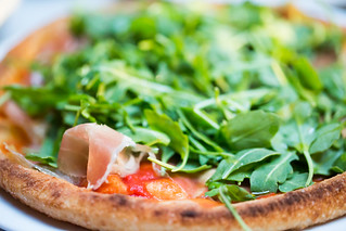 A Little Prosciutto and Arugula to Complement the Pizza, A 16, Oakland | by Thomas Hawk