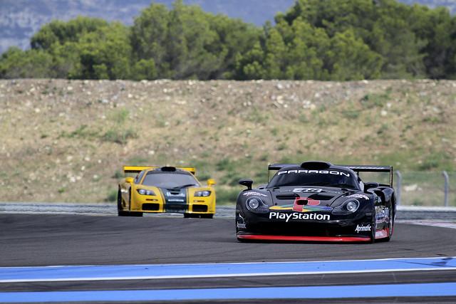 PORSCHE 911 996 GT1 & McLaren F1 GTR