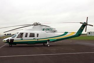 Sikorsky S-76 M-ONTY
