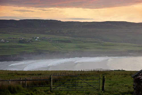 sea mist beach fog bay day cloudy sutherland armadalebay lednagullan