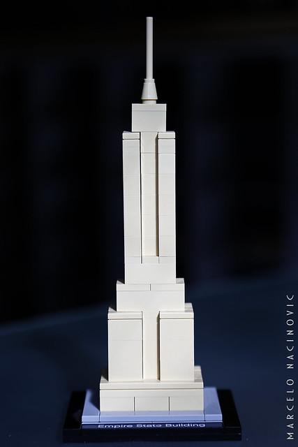Empire State Building Lego Architecture