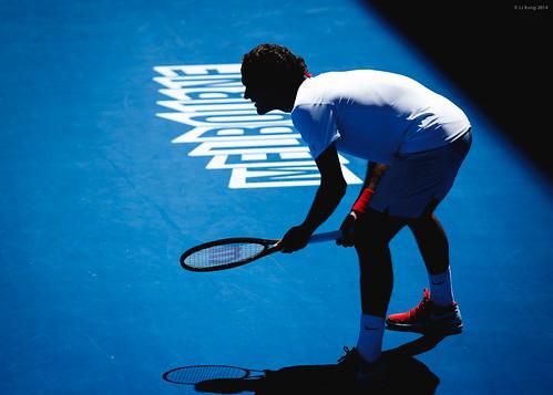 Roger Federer 1st round match Australian Open 2014 | by ljology