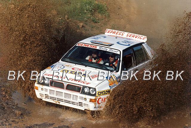 1993 Acropolis Rally, Nikos Tsadaris-Elias Kafaoglou