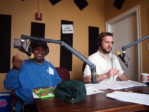 Action Jackson and Russell Shelton on the air.