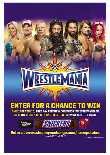 Mars WWE Sweepstakes | by Army & Air Force Exchange Service PAO