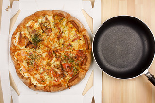 ピザの大きさ   by icoro.photos