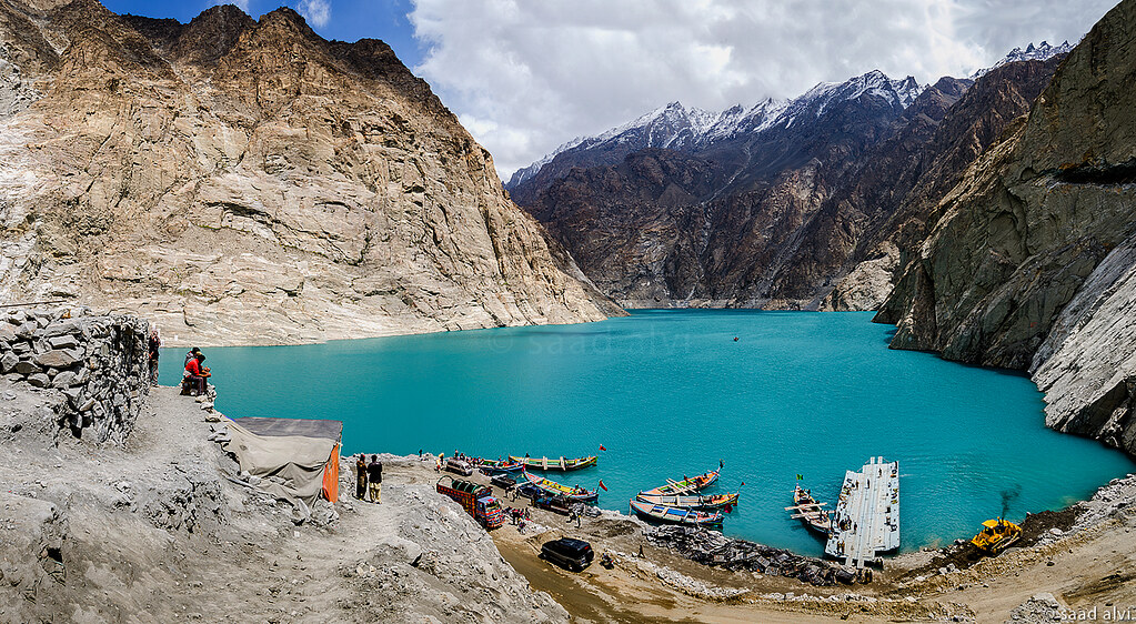 Attabad Lake Facts for Kids