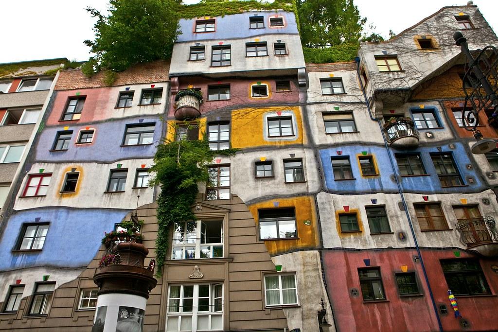 The Hundertwasserhaus The Hundertwasserhaus Is An