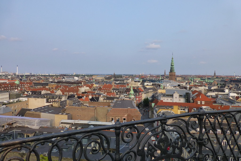 Photo from the top of The Round Tower, Copenhagen, Denmark