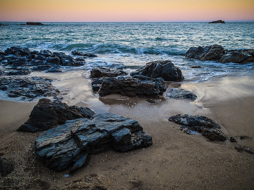 seascape beach rock australia places things coastal newsouthwales coffsharbour korora