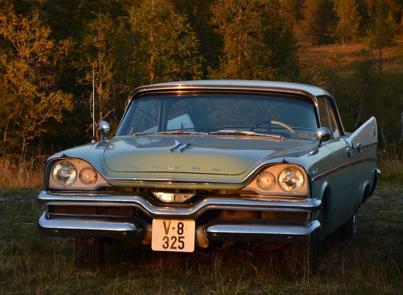 1957 Dodge Coronet - sunset