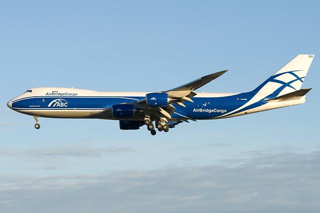 VQ-BRH  AirBridgeCargo Airlines - ABC Boeing 747-8HVF