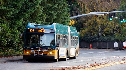 S. Kirkland Park and Ride - 12: MT 255 headed towards Kirkland